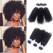 Peruvian Kinky Curly Hair Weave Virgin Hair Bundle Deals Natural Colour 100g/pc 3 Bundles Peruvian Curly Weave Human Hair Extensions