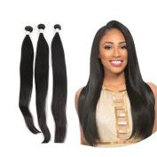 FADLASH Brazilian Straight Hair 3 Bundles 7A Grade Unprocessed Brazilian Virgin Remy Silky Straight Human Hair Weave Bundles Natural Black Colour
