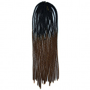 CXYP 50cm Ombre Crochet Braid Hair Extensions 20 strands/pack Havana Mambo Twist Soft Dread Lock Synthetic Braiding Hair