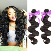 Malaysian Body Wave Bundle Deals Malaysian Virgin Hair Body Wave Bundles 8A Malaysian Hair Unprocessed Human Hair Extensions Natural Black