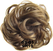 Hair Extensions Wavy Curly Synthetic Clip on/in Messy Hair Bun Chignons Hair Piece Wig