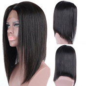 Friya Hair 8A Brazilian Full Lace Human Hair Wigs Long Bob Straight Lace Front Human Hair Wigs Pre Plucked Hairline With Baby Hair Virgin Hair Wigs For Black Women