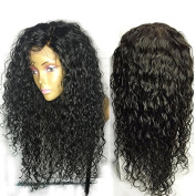 Friya Hair 8A Brazilian Full Lace Human Hair Wigs Deep Curly Lace Front Human Hair Wigs Pre Plucked Hairline With Baby Hair 8-26 Virgin Hair Wigs For Black Women