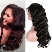 Friya Hair 8A Brazilian Full Lace Human Hair Wigs Body Wave Lace Front Human Hair Wigs Pre Plucked Hairline With Baby Hair 8-26 Virgin Hair Wigs For Black Women