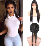 Friya Hair 8A Brazilian Full Lace Human Hair Wigs Straight Lace Front Human Hair Wigs Pre Plucked Hairline With Baby Hair 8-26 Virgin Hair Wigs For Black Women