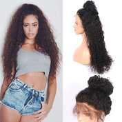 Friya 8A Brazilian Full Lace Human Hair Wigs Curly Water Wave Lace Front Human Hair Wigs Pre Plucked Hairline With Baby Hair 8-26 Virgin Hair Wigs For Black Women
