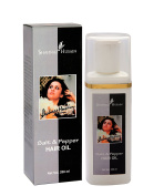 Shahnaz Husain Salt and Pepper Hair Oil for Revitalising Silver and Grey Hair