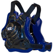 Cliff Keen F5 Tornado Wrestling Headgear - Black/Royal Blue/Black