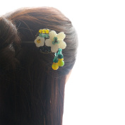 FANTAC CRAFTS Vintage Bohemia Chic Hair Stick Updo Bun Hairpin Chignon Women Girl Retro Hair Accessories