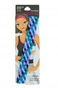 Pomchies Multi Colour Pom Braid Headband, Plum