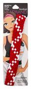 Pomchies Multi Colour Pom Braid Headband, Red/White