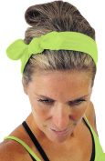 ice cream Removable BOW Giallo Fluo Yellow Training Sweatband