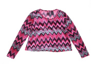 Others Pink Comb Top Blouse Long Sleeve Size M NWT - Movaz