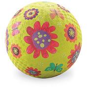 Crocodile Creek Flower Garden Playground Ball, 18cm , Green