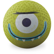 Crocodile Creek Creetures Alien Playground Ball, 18cm , Lime Green