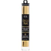 Deco Foil 15cm x 30cm 5/Pkg-Gold