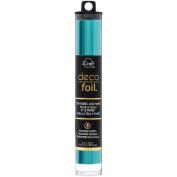 Deco Foil 15cm x 30cm 5/Pkg-Turquoise