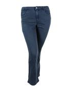 Suede Juniors' Eva Mid Rise Bootcut Jeans