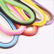 36 Colours 720 Strips Quilling Paper Strips Kit