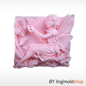 3D Butterfly Angel Craft Art Silicone Soap mould Craft Moulds DIY Handmade Candle mould Chocolate Mould moulds