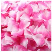 Outtop 1000pcs Multicolor Silk Rose Artificial Petals Wedding Party Flower Favours Decor