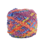 Celine lin One Skein Super Soft Warm Coral Fleece Knitting Yarn for Baby 100g,Multi-colored03