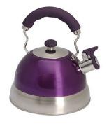 Quest Leisure 2.5 Litre High Gloss Purple Whistle Kettle
