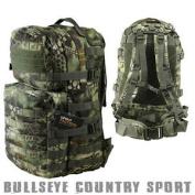 Kombat Airsoft Medium Molle Assault Backpack Day Pack Raptor Woodland Camo