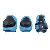 """Gim Child""""s Pad Set With Knee Elbow And Wrist Blue"""