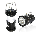 Dinhand Ultra Bright Led Rechargeable Lantern Portable Solar Camping Lanterns...