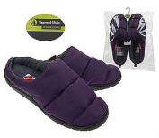 New Summit Thermal Mule Purple Winter Slippers, Water Resistant, Sizes