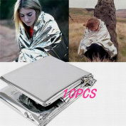 10x Camping First Aid Survival Foil Waterproof Rescue Thermal Emergency Blankets