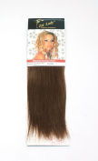 1st Lady 25cm Natural Euro Silky Straight Human Hair Weave Weft 80g