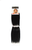 1st Lady 20cm 2in1 Natural Euro Human Hair Weave Weft 80g