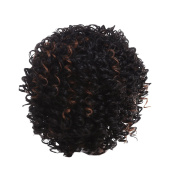 Zhhlaixing Elegant Women's Fashion Party Synthetic Wigs - Short Curly Wigs RM-W921