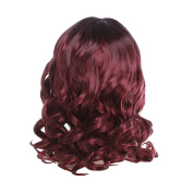 Zhhlaixing Elegant Women's Fashion Party Synthetic Wigs - Short Curly Wigs RM3516