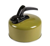 Kampa Billy 2 Litre Whistling Lightweight Camping Kettle - Green