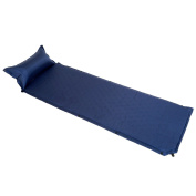 Yahill® Promotion!!! Deluxe Camping Sleeping Air Pad Mattress Basecamp With An