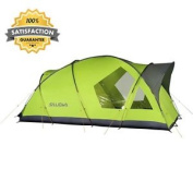 Family Tent, Sleeps 4, One Size, Camping, Outdoor, Family, Robust
