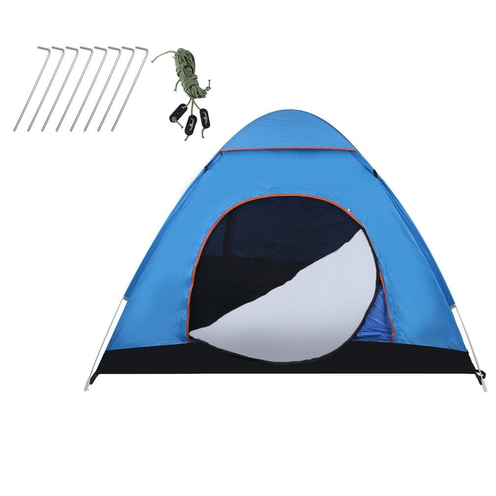 dylisy Lightweight UV Protection Beach Tent Outdoor Camping Tent Awning Automatic Instant Pop Up Beach Tent Sun Shelter Cabana Artículos educativos