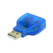 Slim USB 2.0 to PS/2 Adapter Dongle To PS/2 Keyboard/Mouse Cable Adapter