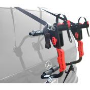 TYGER Deluxe Trunk Mount 1-Bike Carrier Rack for Sedan/Hatchback/SUV/Van, Black