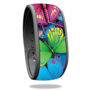 Skin For Disney Magic Band – Butterfly Party   MightySkins Protective, Durable, and Unique Vinyl Decal wrap cover   Easy To Apply, Remove, and Change Styles   Made in the USA