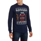 Bottoms Up Big Men's Santa Graphic Christmas Thermal, 2XL
