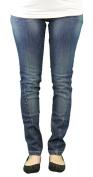 9 Fashion Maternity Nobu Indigo Low-Panel Jeans Sz S