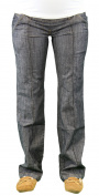9 Fashion Maternity Rayo Indigo Full-Panel Jeans Sz S