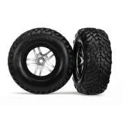 Tyres & wheels, assembled, glued (SCT Split-Spoke satin