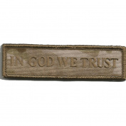 Camouflage In GOD We Trust Patch, 5.1cm x 7.6cm