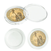 Coin Capsules 10pcs 52mm Coin Protector Holders for Collectors Display