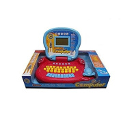 Lightahead® Learning Machine Toy Portable Multi-Function Intellective Talkative Laptop Featuring 25 Fun Activities - Intelligent Learning Machine Educational Toy